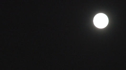 Fullmoon timelapse Stock Video Footage