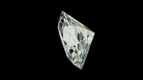Oval Cut Diamond Stock Video Footage