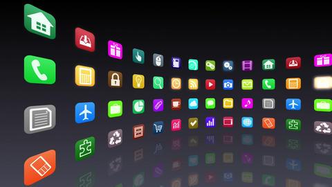 Smart Phone apps R 7 Cc 1b 1 HD Stock Video Footage