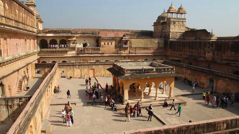 fort in Jaipur India Footage