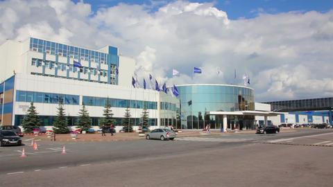 Plant brewer Baltika - St Petersburg Russia Live Action