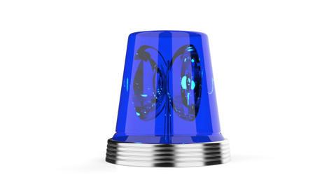 Blue flashlight Stock Video Footage