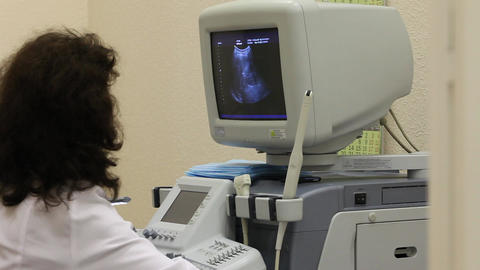 ultrasound examination Stock Video Footage