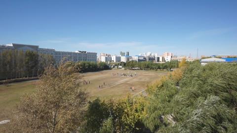 Heihexueyuan Stadium 01 Stock Video Footage