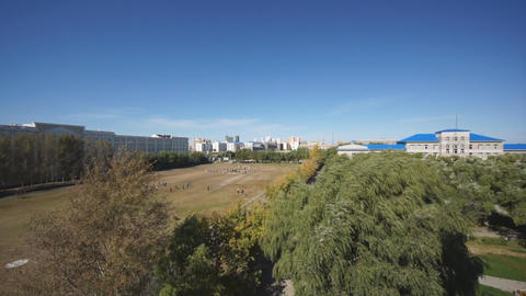 Heihexueyuan Stadium 03 Stock Video Footage
