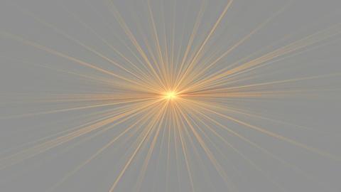 Orange Star Shining on Gray Stock Video Footage
