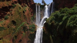 Ouzoud Waterfalls, Morocco Stock Video Footage