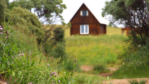 country house Stock Video Footage
