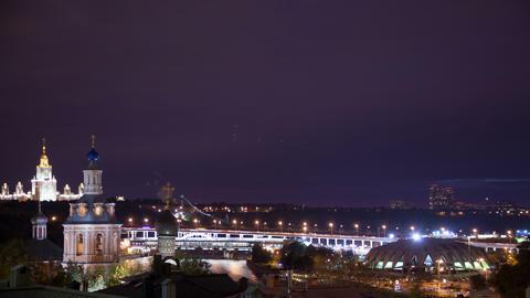 Night city timelapse 4K Stock Video Footage