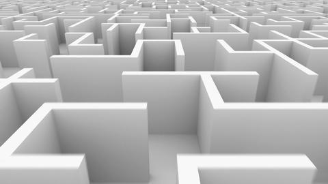Endless maze Stock Video Footage
