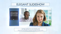 Elegant Slideshow - Apple Motion and Final Cut Pro X Template Apple Motion Template