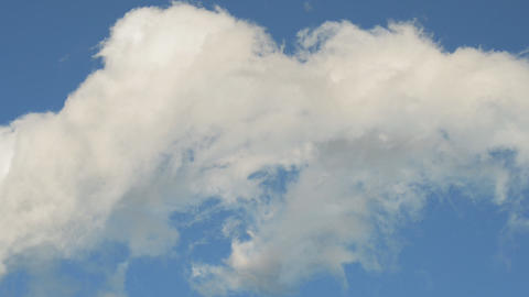 The movement of clouds in the sky.Timelapse Stock Video Footage