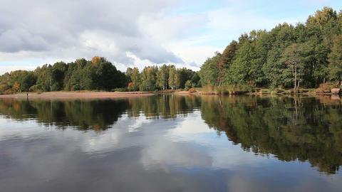 autumn scenery Stock Video Footage