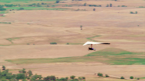 Hang Gliding Stock Video Footage