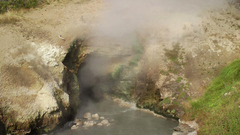 Dragons Mouth Spring Stock Video Footage
