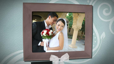 Wedding Frames stock footage