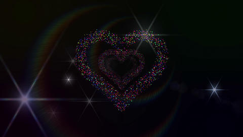 Heart Single tunnel Fa 1b F HD Stock Video Footage