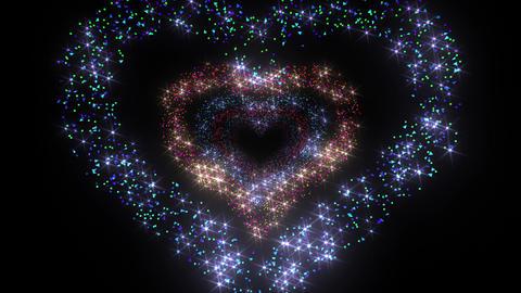 Heart Single tunnel Fb 1b K HD Stock Video Footage