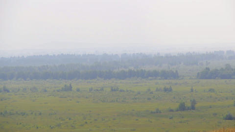 Khakassia chest panorama Stock Video Footage