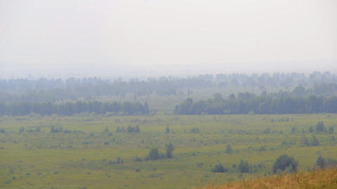 Khakassia chest panorama Stock Video Footage