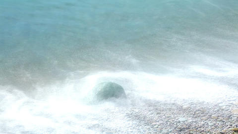 Waves Of The Sea stock footage