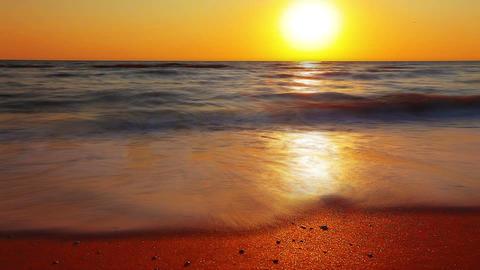 Marine Sunset Footage