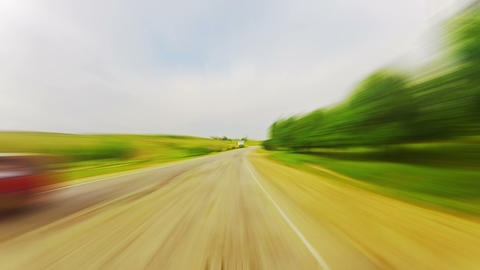 Ride In A Car Stock Video Footage