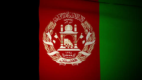 Flag Afghanistan 04 Animation