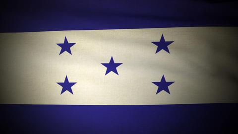 Flag Honduras 04 Stock Video Footage