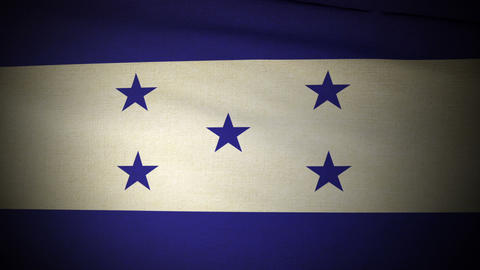 Flag Honduras 04 Animation