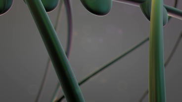 A bunch of pills abstract objects.Modern decorative genes... Stock Video Footage
