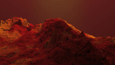 orogeny & desert,red mountain & volcanic activity Stock Video Footage