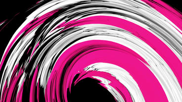abstract color rough curve lines shaped arch tunnel Stock Video Footage