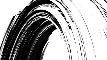 abstract color rough curve lines shaped arch tunnel,Black... Stock Video Footage
