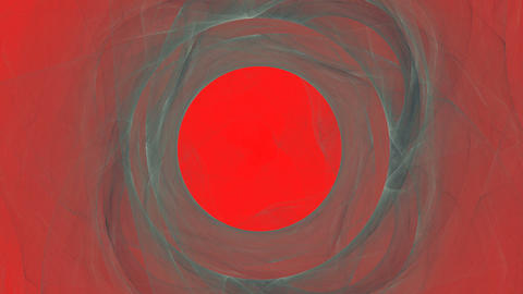 Abstract Gray Smoke on Red Animation