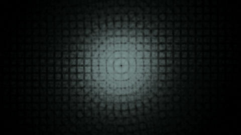 Gray Lattice on Black Animation