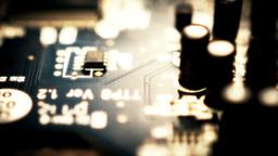 Printed Circuit Board Stock Video Footage