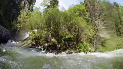 Underwater stream Stock Video Footage