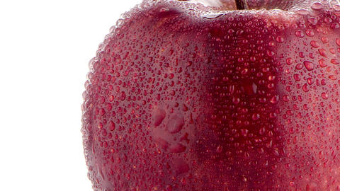 Red apple Stock Video Footage