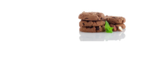 Stack of cookies Stock Video Footage