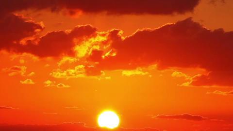 Beautiful Sunrise Footage