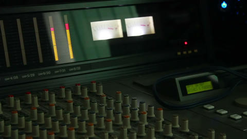 Audio Mixer 5 Stock Video Footage
