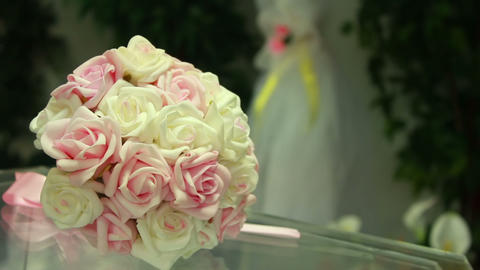 Wedding Flowers Stock Video Footage