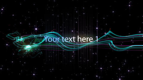Displays in Stars After Effects Template