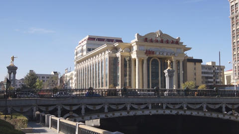 Harbin 01 Beijing Opera Theatre Stock Video Footage