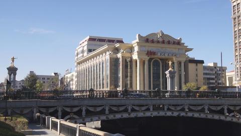 Harbin 01 Beijing Opera Theatre Stock Video Footage
