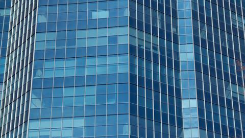 Cityscape office 4k 24fps Footage