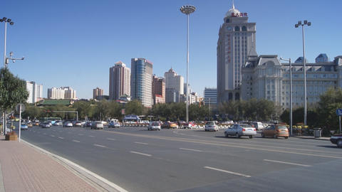 Harbin 10 Jihong Jie traffic Footage