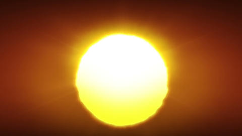 Clean Sunrise in Looped animation. HD 1080 Stock Video Footage