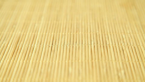 Traditional bamboo background Stock Video Footage